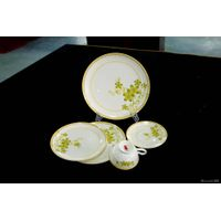 luxury fine bone china dinner set, porcelain dinner set