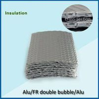 double layer air bubble and alumium foil heat insulation material thumbnail image