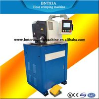 BARNETT hot selling BNT83A CNC hydraulic hose crimping machine with die holder