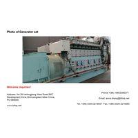 Man 9L 21/31 Diesel Generator sets