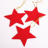 Diy eco-friendly felt christmas ornament for christmas tree decoration