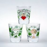 Custom Printing Shot glass from Glass Factory