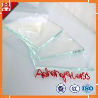 4mm -12mm Extra clear glass low iron float glass