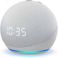 All-new Echo Dot (4th Gen) Smart speaker with clock and Alexa thumbnail image