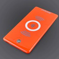 Red 6000mAh Qi wireless charger&power bank TWO-IN-ONE