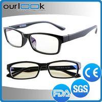 TR90 Eyeglass Anti Blue Light Computer Eyeglass Black