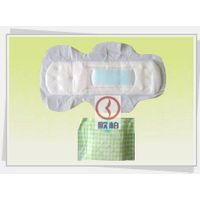 Sanitary Napkins with Dual Wings