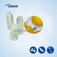 Ansen Pipe Leak Repair Wrap Tape/Marine Fiberglass Water Activated Repair Tape