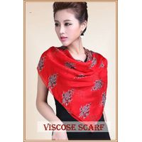 hot sell Digital silk printed scarf