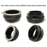 Sony Alpha A lens to Canon EOS EF Camera Mount adapter Ring