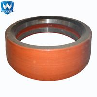 Wodon hardfacing vertical mill welding wire with chrome alloy flux core