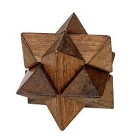 star puzzles, wooden puzzles, interlocked puzzles