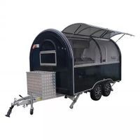 Street fast food mobile cart food truck mobile restaurant food van