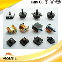 Rotary Switch micro switch for Home Appliance with 1 to 10 Position Switch