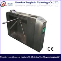 Semi Automatic Bi-directional Stainless steel Tripod Turnstile