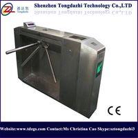 Semi Automatic Bi-directional Stainless steel Tripod Turnstile