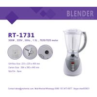 HUI JIA RT-1731 High quality factory supply blender