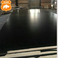 Finger Jointed Core 18mm Black Film Faced Plywood for Construction