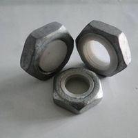 security nut lock nut steel tower nut and bolt
