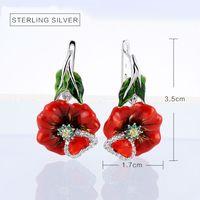 Rings For Women Enamel Craft s925 Sterling Silver Nice Enamel Jewelry
