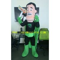 OHLEES Professional custom mascot costume superman mascot adult size