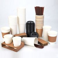 paper fabrication cup 7 Oz 190G with single double PE and paper fabrication machine