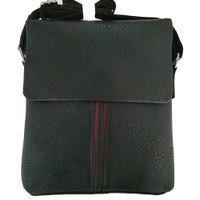 New style fashion men PU leather shoulder messenger bag