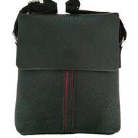 New style fashion men PU leather shoulder messenger bag