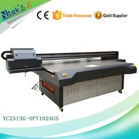Factory supply Inkjet digital pvc card uv printing machine plastic card glass printing machine with