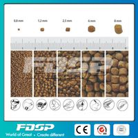 High Grade 4-5T/H Output Chicken Feed Production Line From FDSP