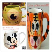 manufacture Relief shaped ceramic glaze cup ,white porcelain gift mug