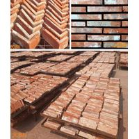 Old Red Brick Slices, Historical Brick, Antique Brick, Corner Brick.