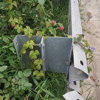 Galvanized Highway Guardrail Traffic Road Crash Barrier U posts