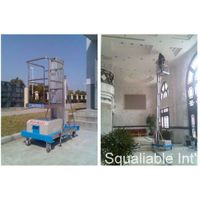 single mast aluminum lift