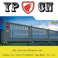 Electric sliding gate YP5-012, Sliding straight retractable gate in factory thumbnail image
