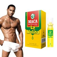 Maca herbal long time sex delay spray for men