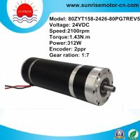 24V 132W high quality dc motor