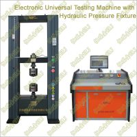 Electronic Universal Testing Machine with Hydraulic Pressure Fixtures