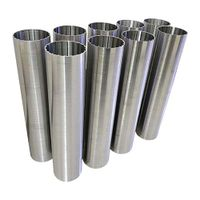 Johnson wedge wire strainer screen pipe tube well filter for water treatment thumbnail image