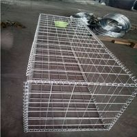 Hot-selling gabion Fencing/stone cage retaining wall