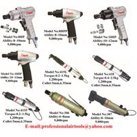 Pneumatic Screwdriver Air Screwdriver Straight Type or Pistol Type High Torque&High Quality Ability