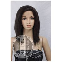 120% hair density 4# 12 inch100% human remy wig