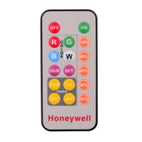 IR super slim remote control with 1-18 keys optional