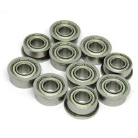 F605ZZ 5x14x5mm flanged miniature ball bearing for RC engine thumbnail image
