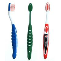 Kids Toothbrush with tongue scrapper on head