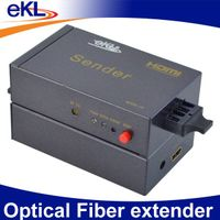 Fiber Optic extender with HD lossless signal transmission