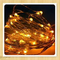 2013 hot sale LED  copper string light battery operated thumbnail image