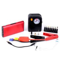 8000mAh Auto part  12v mini car jump starter car booster Metal case lithium polymer battery