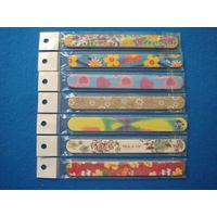 Customized nail file double side disposable manicure polishing tools eco friendly nail file