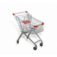 supermarket shopping trolley thumbnail image